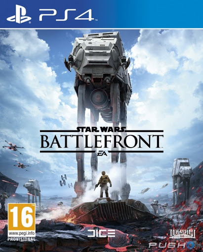 Portada Star Wars Battlefront PS4