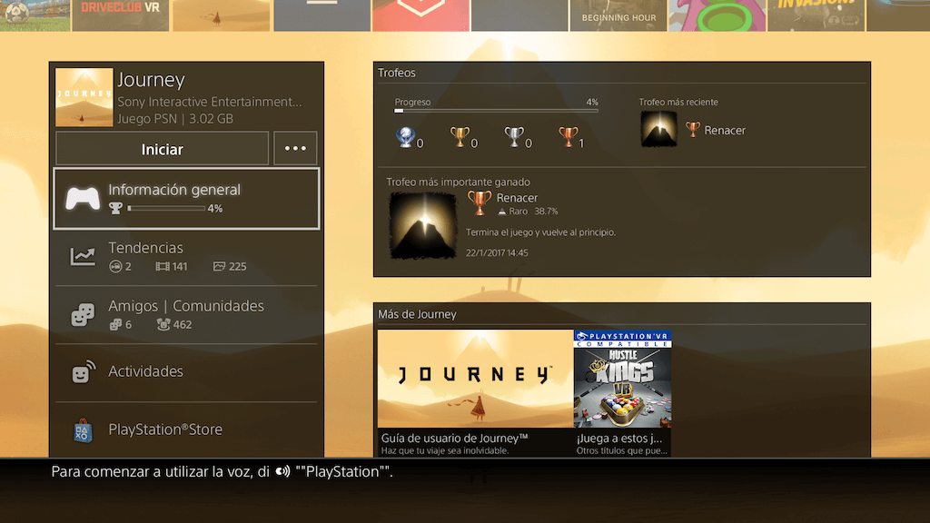 Journey: Playstation Store
