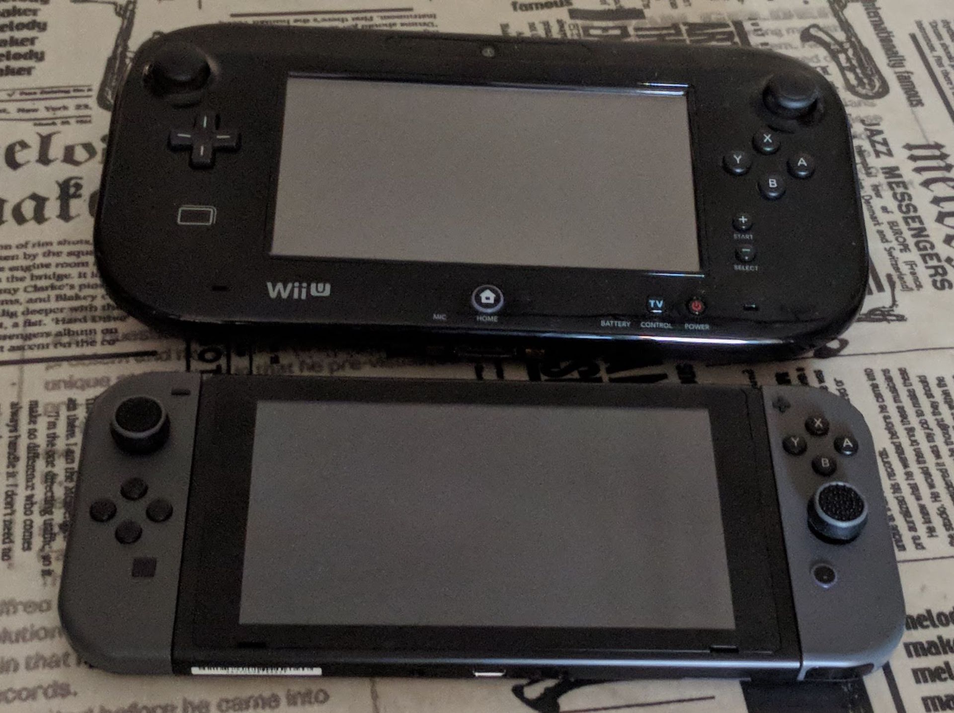 Switch vs WiiU
