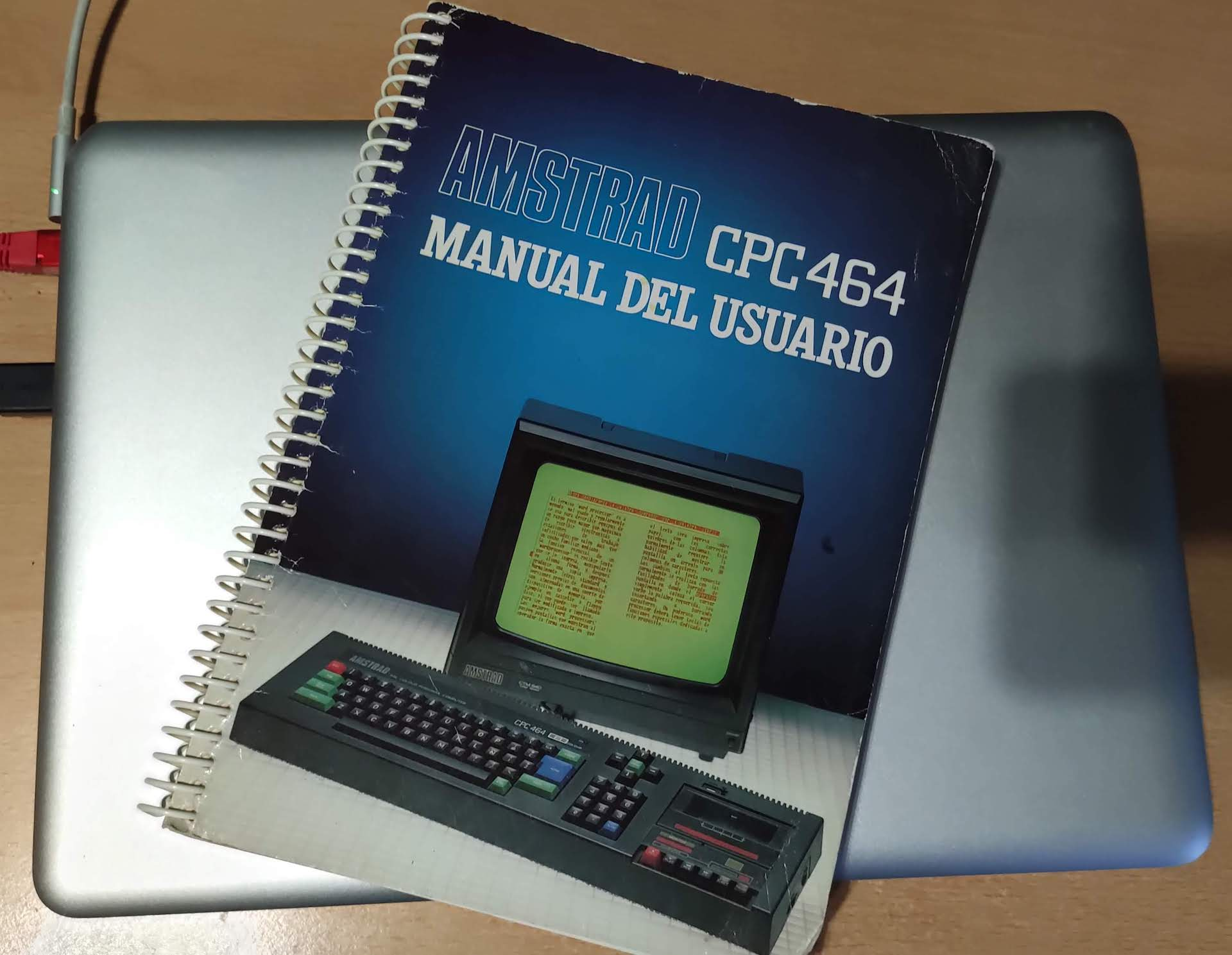 Manual de usuario del Amstrad CPC 464